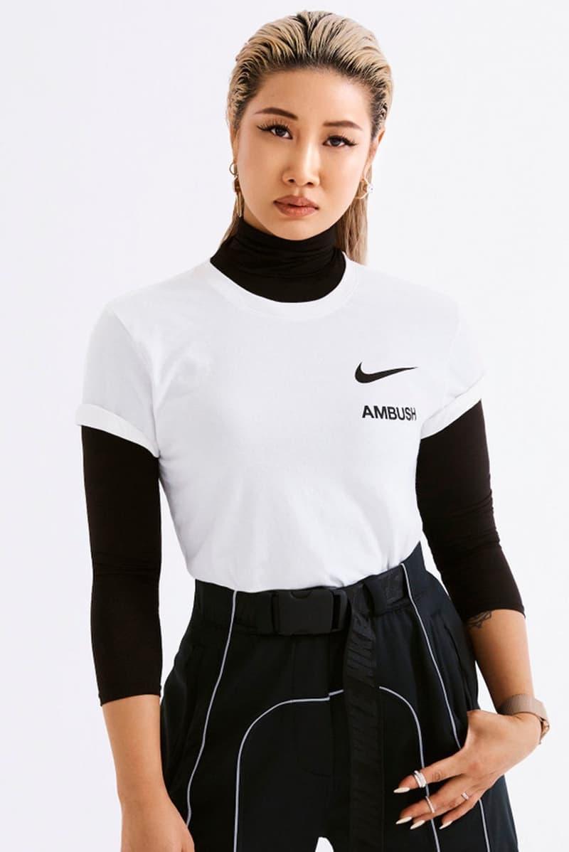 Yoon Ahn AMBUSH x Nike T-shirt White Black