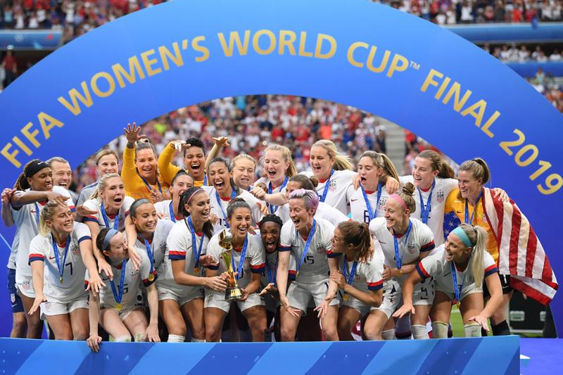 usa womens national team uswnt 2019 fifa world cup winner soccer football megan rapinoe rose lavelle jill ellis