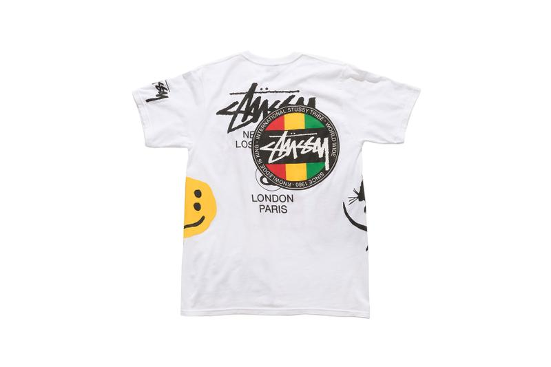 stussy cactus plant flea market dover street market los angeles collaboration fourth of july summer fashion clothing line