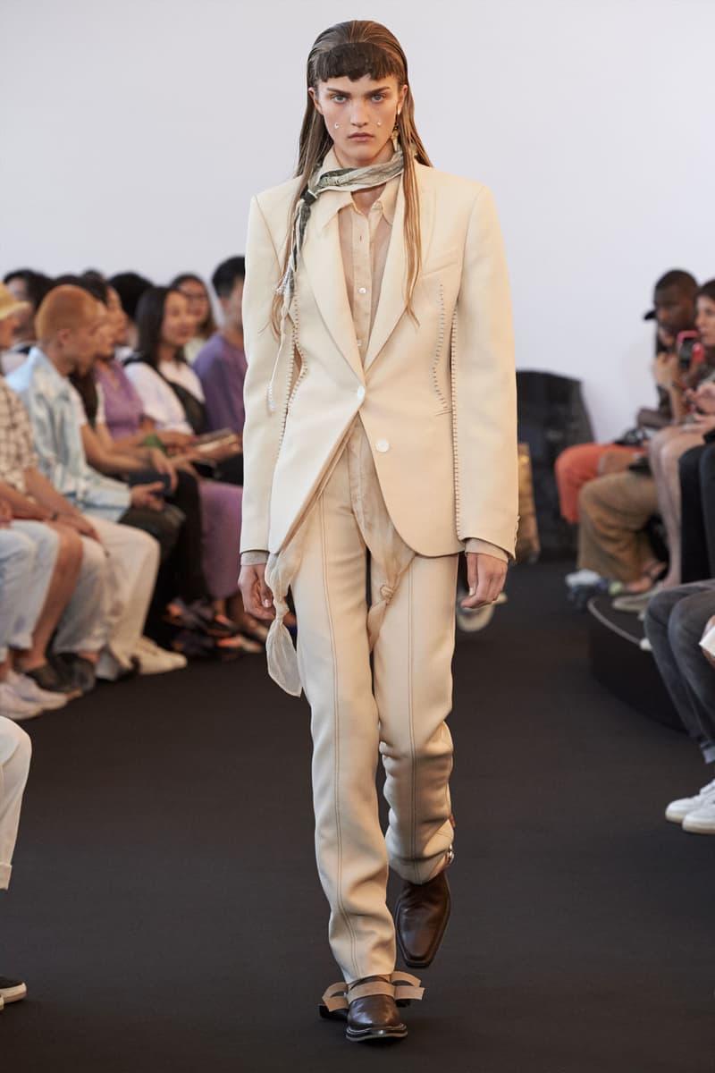 acne studios ss20 paris fashion week womens jonny johansson