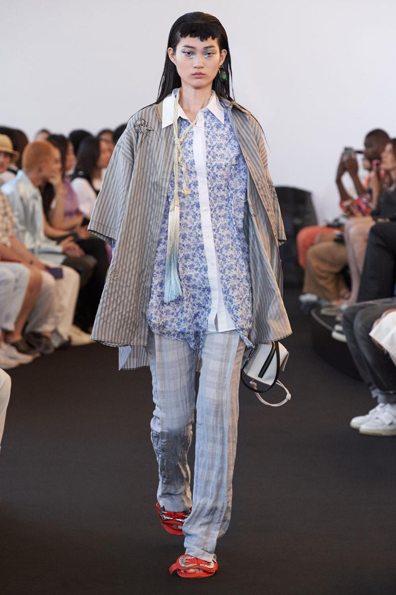acne studios ss20 paris fashion week womens jonny johansson