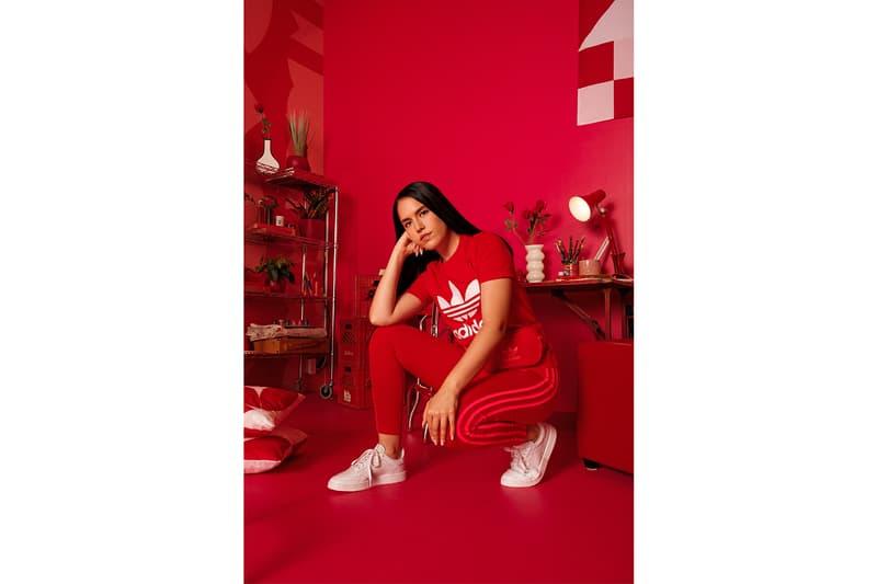 adidas adicolor canada vanessa cesario apparel footwear accessories collection artists art