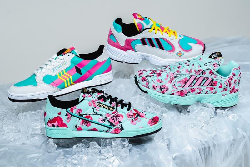 adidas originals arizona ice tea 99 cent price sneakers new york city pop up