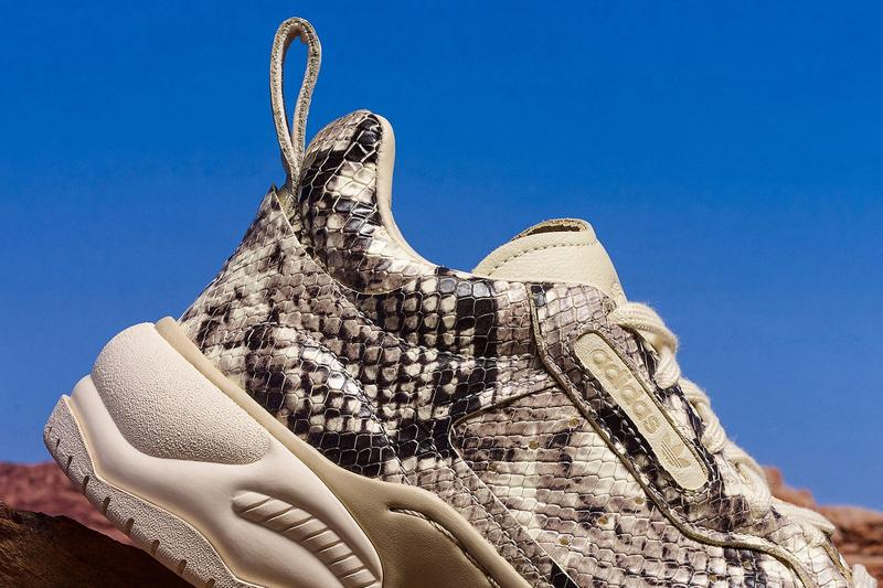 adidas Originals Snakeskin Pack Supercourt Cream Black
