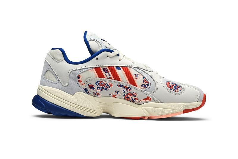 adidas Yung 1 Lucky Cloud Collegiate Royal Active Red