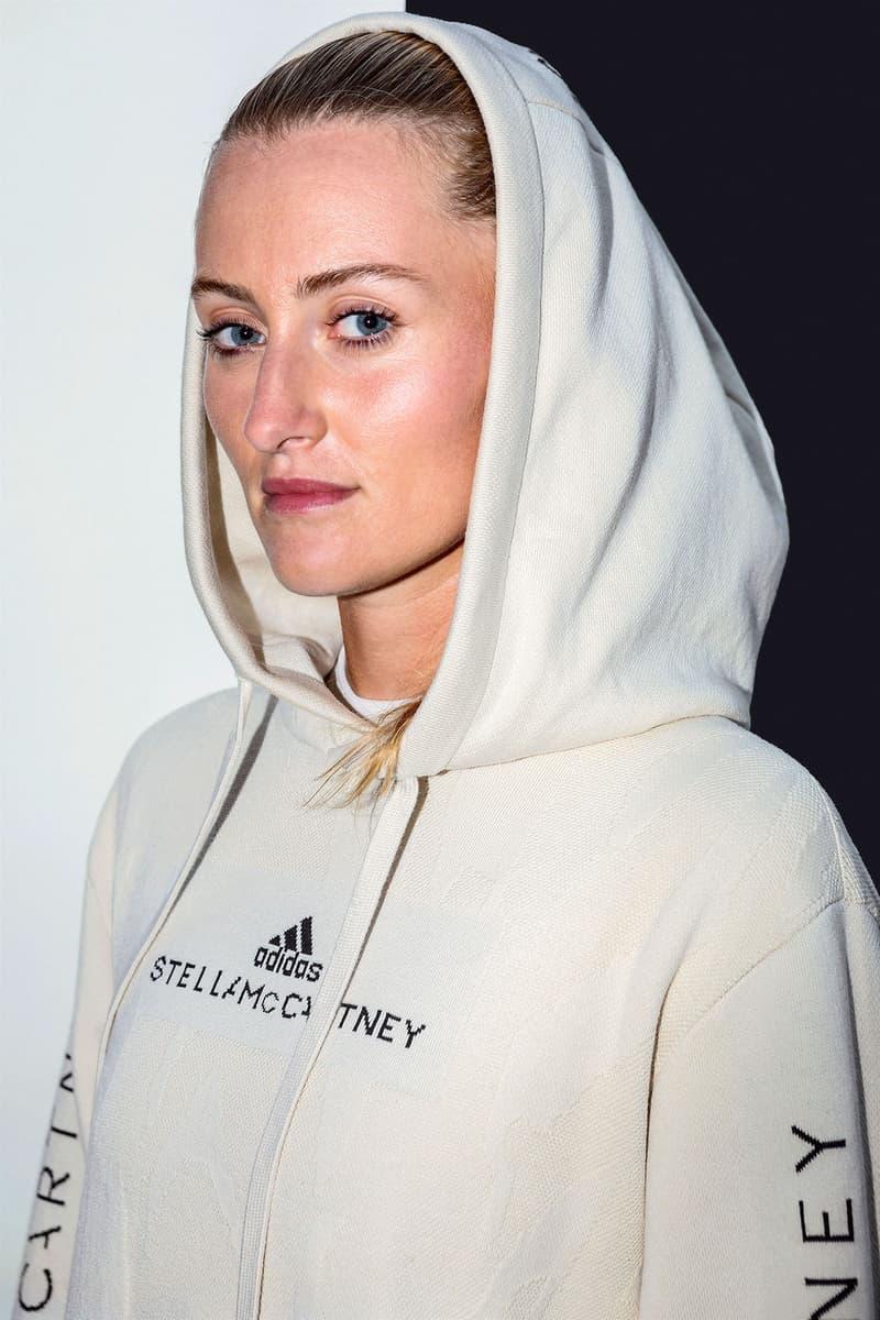 adidas stella mccartney evrnu bolt threads microsilk nucycl sustainable performance apparel prototypes garbine muguruza kristina mladenovic futurecraft sports fashion