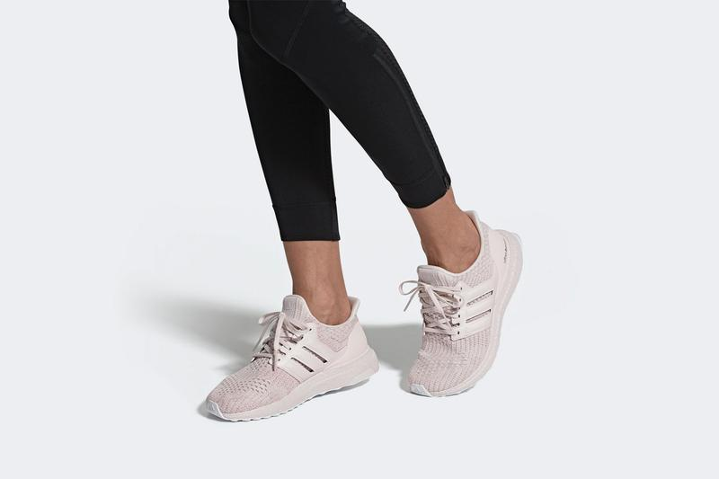 adidas ultraboost running shoes sneakers orchid tint pink