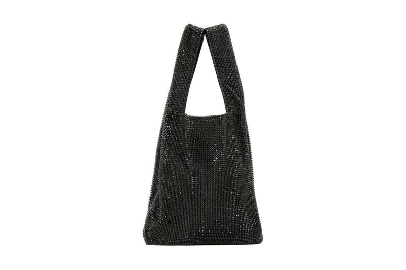 alexander wang mini wangloc shopper tote bag designer luxury crystal rhinestones