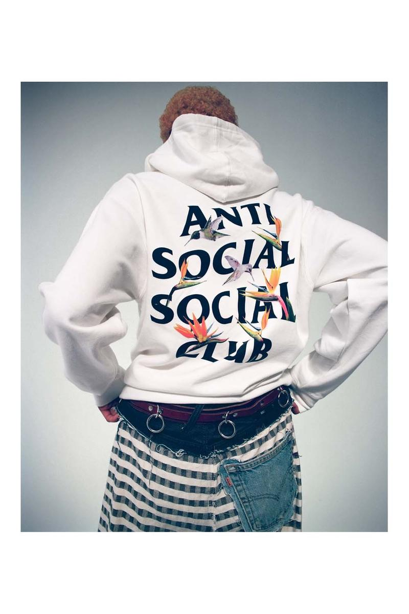 Anti Social Social Club Fall Winter 2019 Still Stressed Lookbook Hoodie White