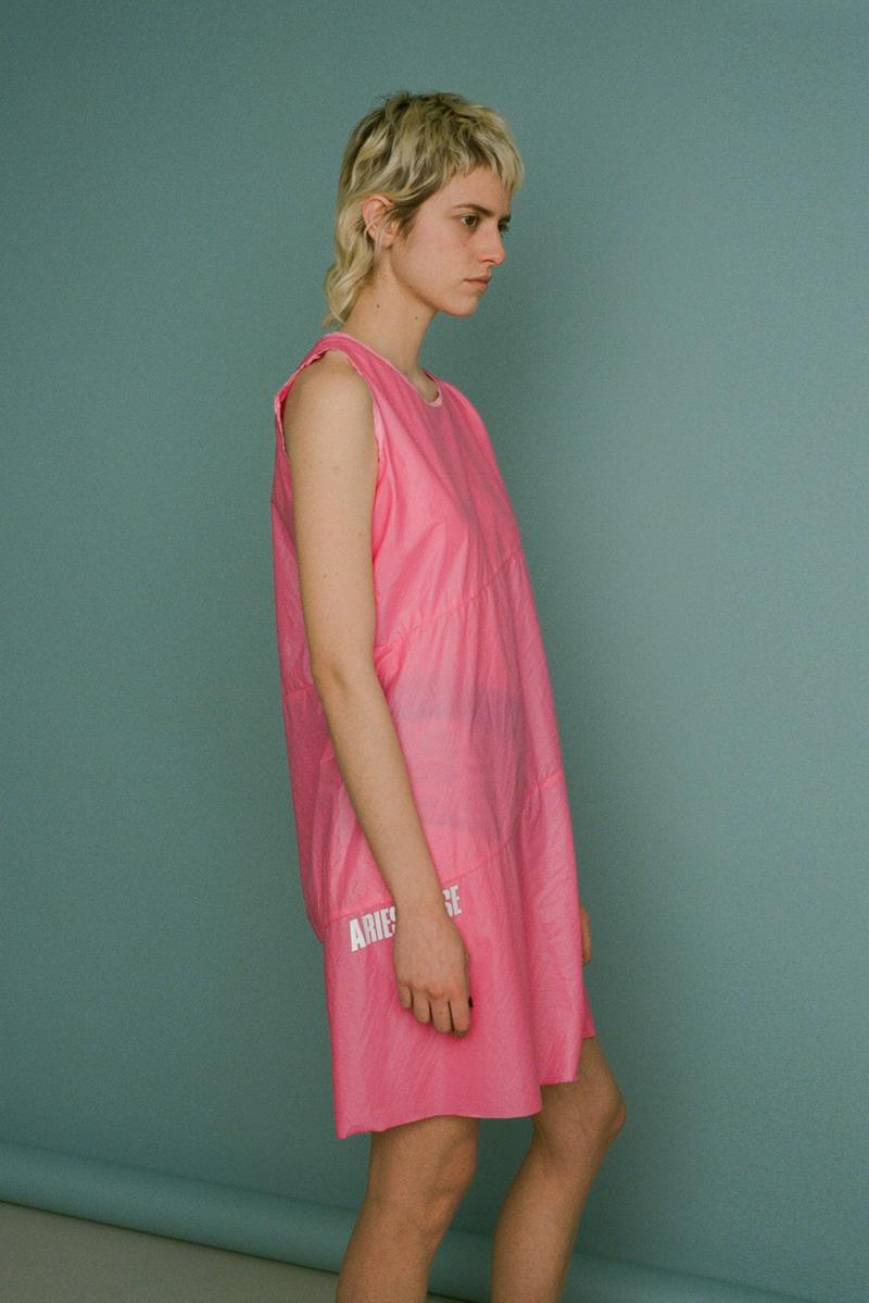 aries fall/winter 2019 collection pink dress