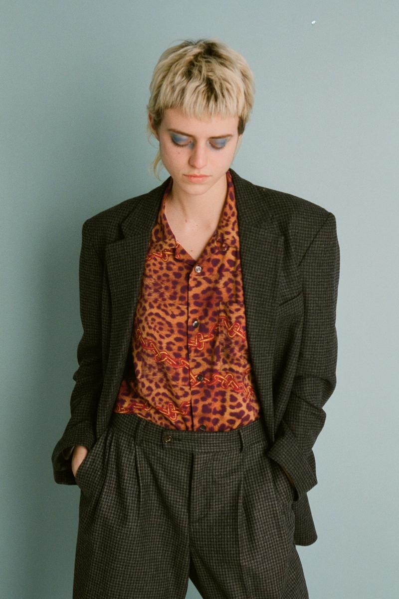 aries fall/winter 2019 collection blazer leopard print shirt