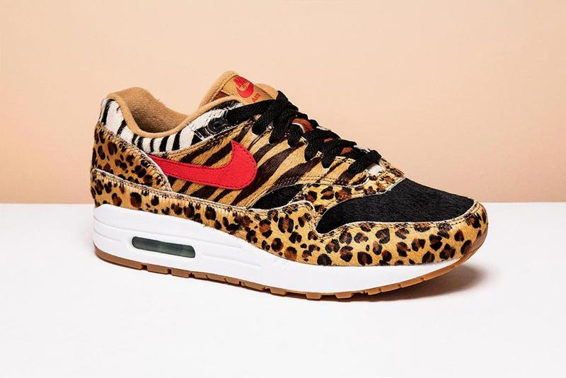4b8eccebc0d1 Nike Air Max 1 Atmos Animal 3.0 Sneaker Release Date Teaser First Look  Leopard Zebra Cow