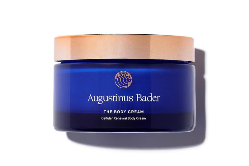 augustinus bader the body cream violet grey body care skincare tfc8 beauty products cruelty free natural ingredients brazilian candeia oil shea butter