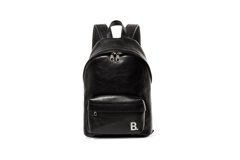 balenciaga backpack bag mini xxs all-black leather daily demna gvasalia