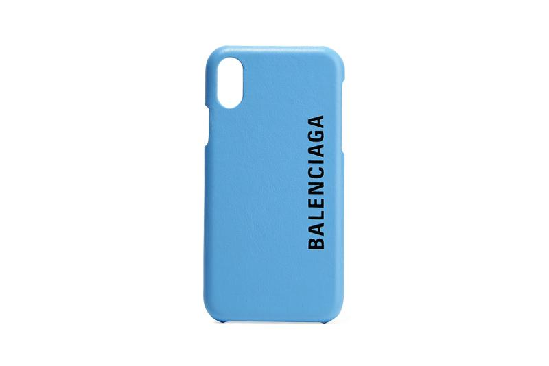 balenciaga iphone x phone cases printed textured leather accessories