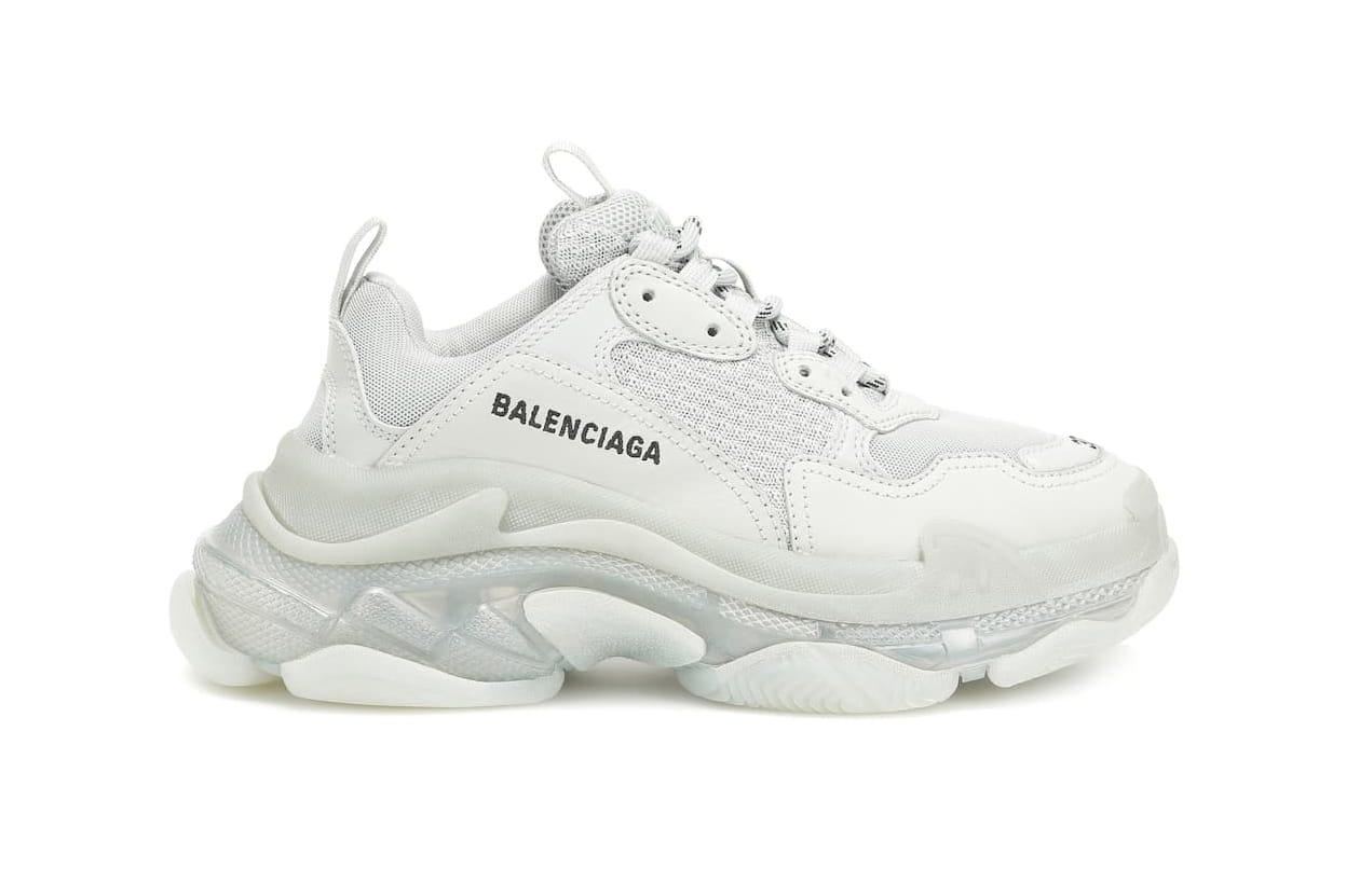 balenciaga gray sneakers