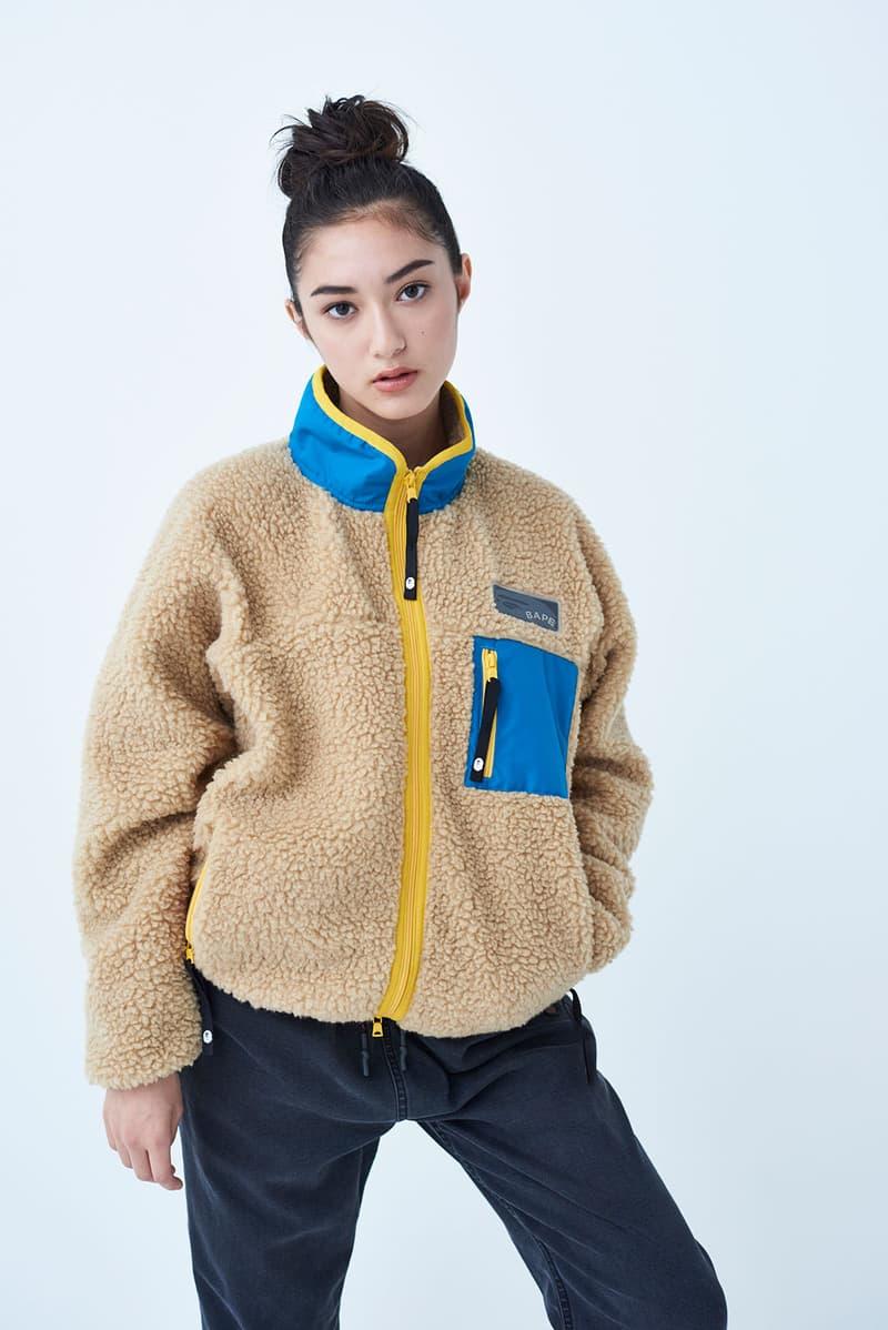 bape fall winter lookbook sweatshirt hoodie jumper shirt