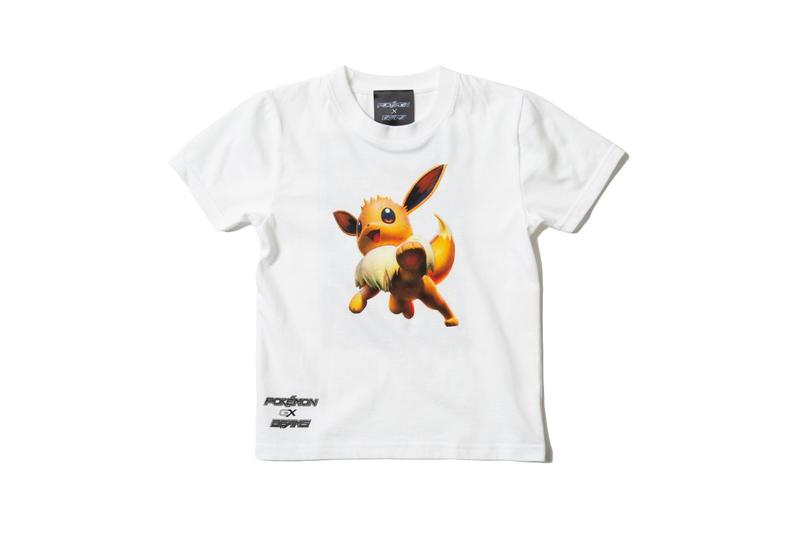beams pokemon trading card game t-shirt eevee