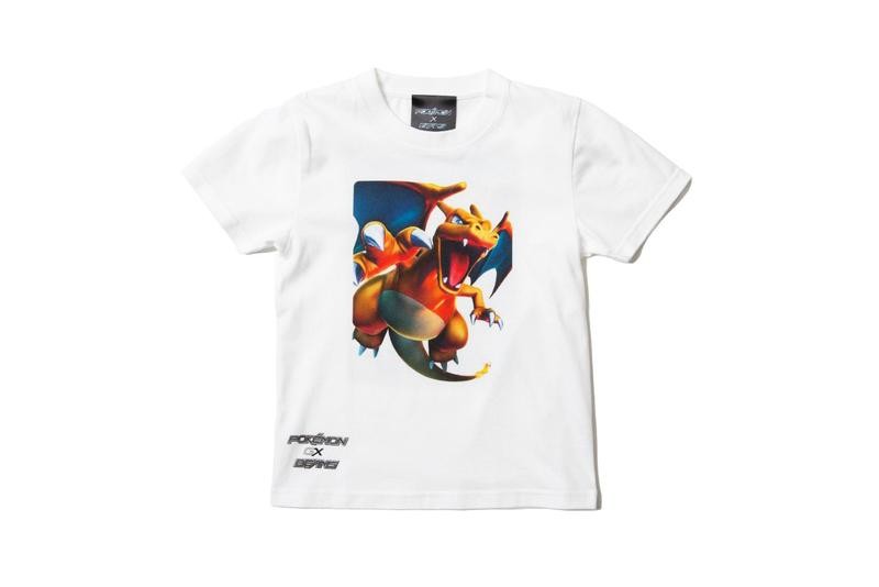 beams pokemon trading card game t-shirt charizard