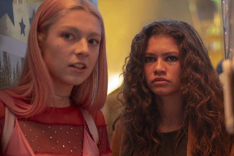 euphoria hbo eye makeup zendaya hunter schafer barbie ferreira