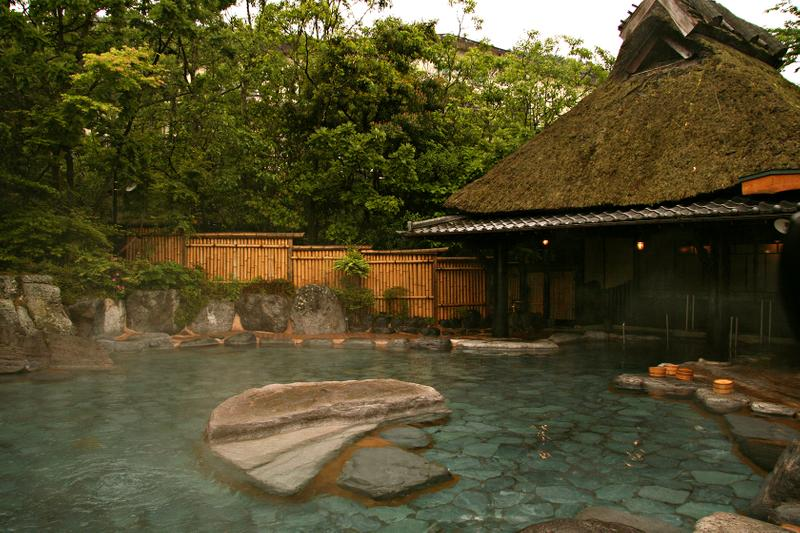 onsen hot springs japan tokyo travel vacation relaxing relax spa outdoors indoor open air private ryoken traditional
