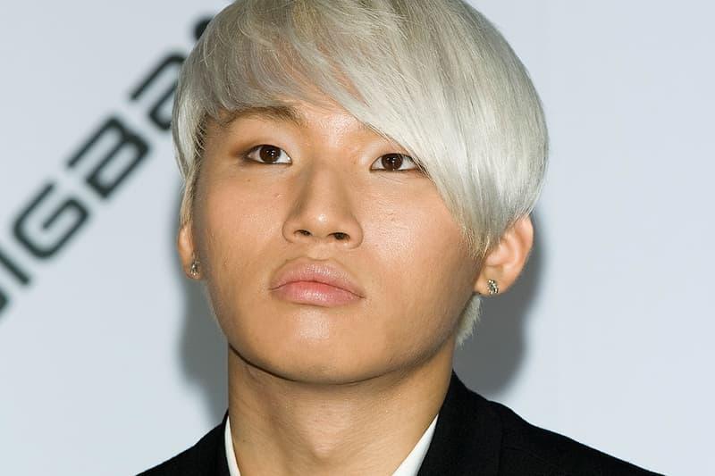 Big Bang Daesung K-pop boy band group YG Entertainment Korea South Seoul Korean 2012 White Blonde Hair