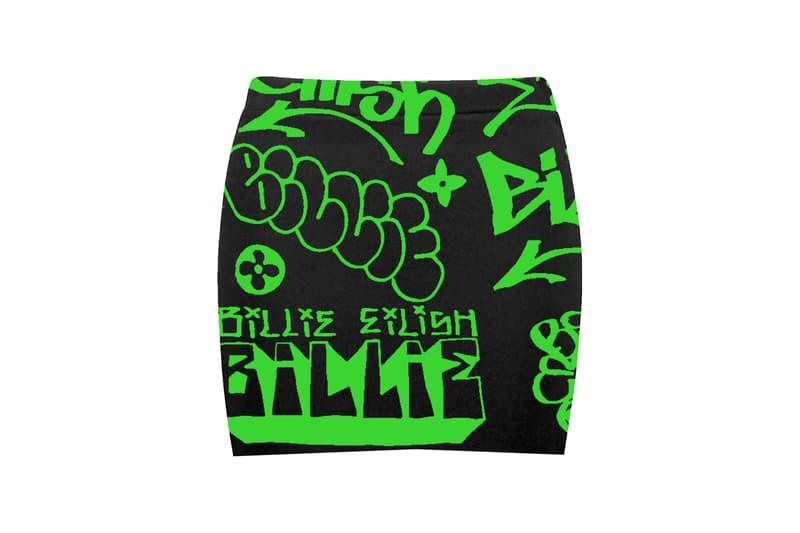 Billie Eilish Freak City Capsule Collection Tee Graffiti