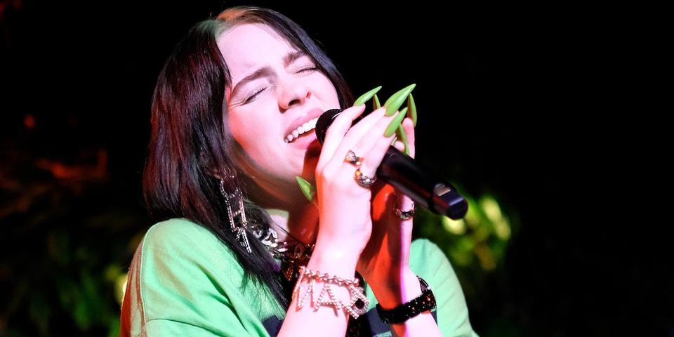 Celebrity Nail Looks Billie Eilish Kylie Jenner | HYPEBAE