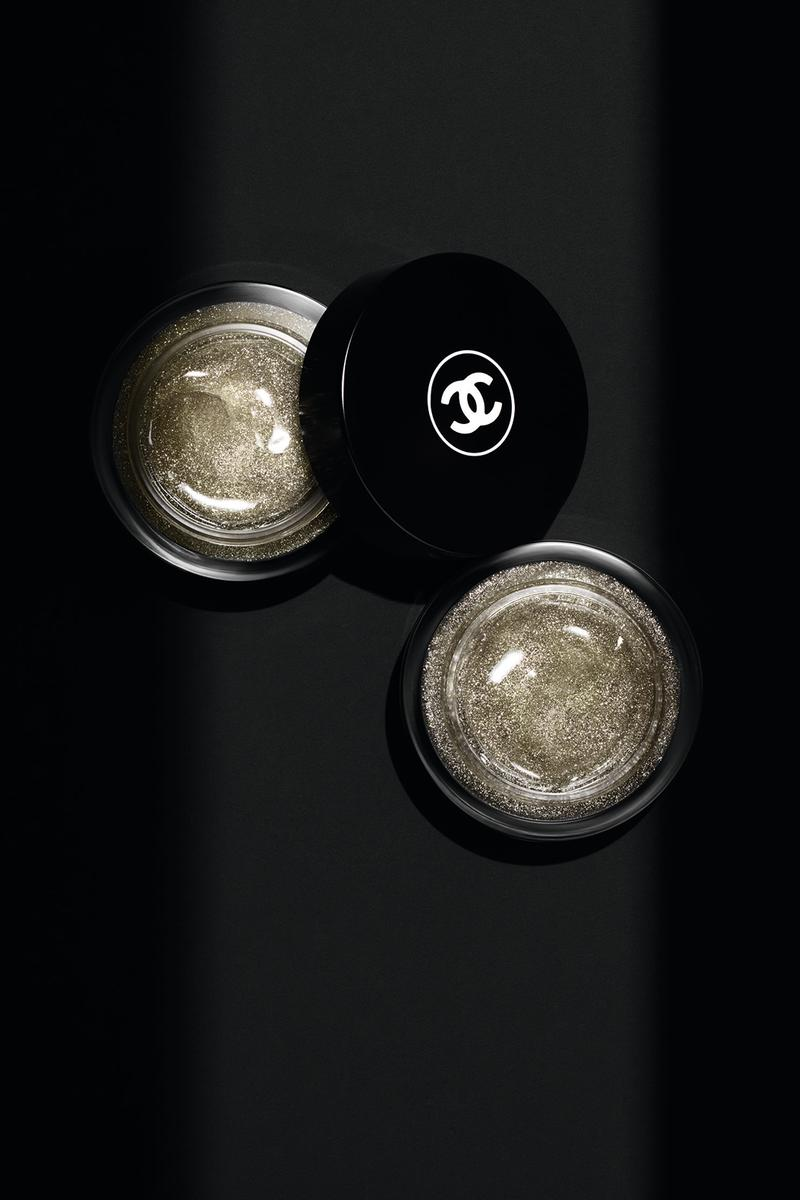 chanel noir et blanc fall makeup collection black white beauty eyeshadow