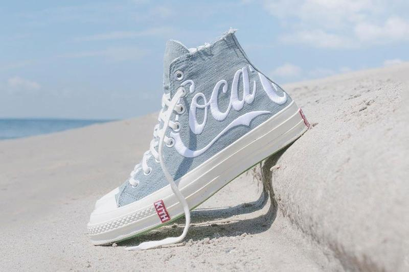 Coca-Cola x KITH x Converse Chuck 70 Light Blue White