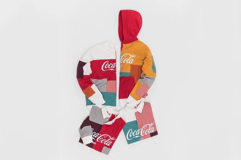 coca cola kith ronnie fieg collaboration shirt polo hoodie crewneck sweater