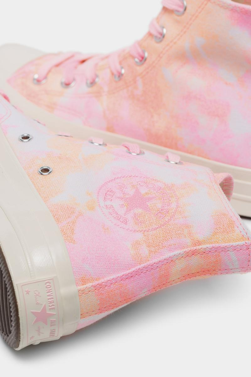 Converse Chuck 70 Tie Dye Pink Orange White