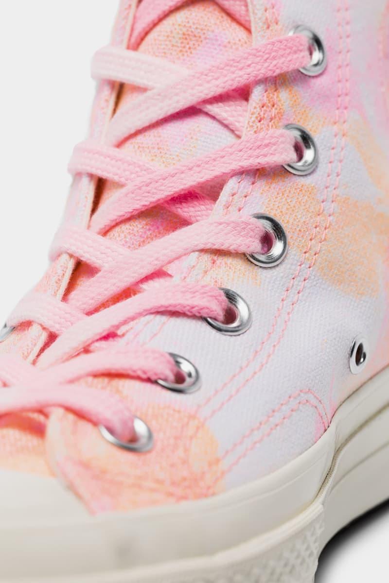 Converse Chuck 70 Tie Dye Pink Orange White