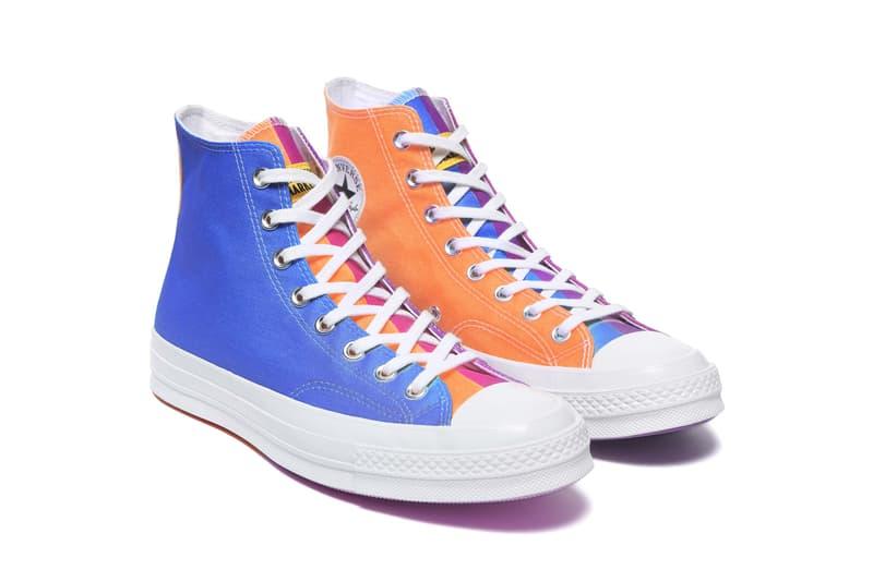 Chinatown x Converse UV Chuck 70 Collection Hi Purple Orange Magenta