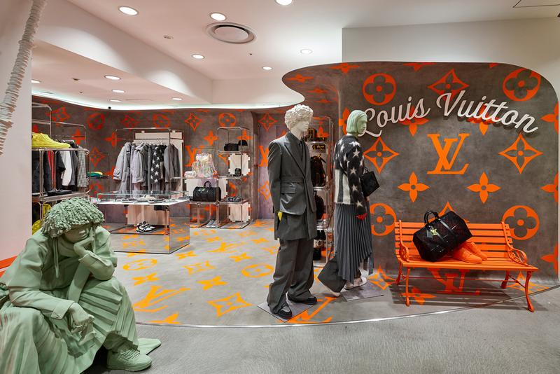 louis vuitton pop-up dover street market ginza dsm dsmg tokyo japan virgil abloh