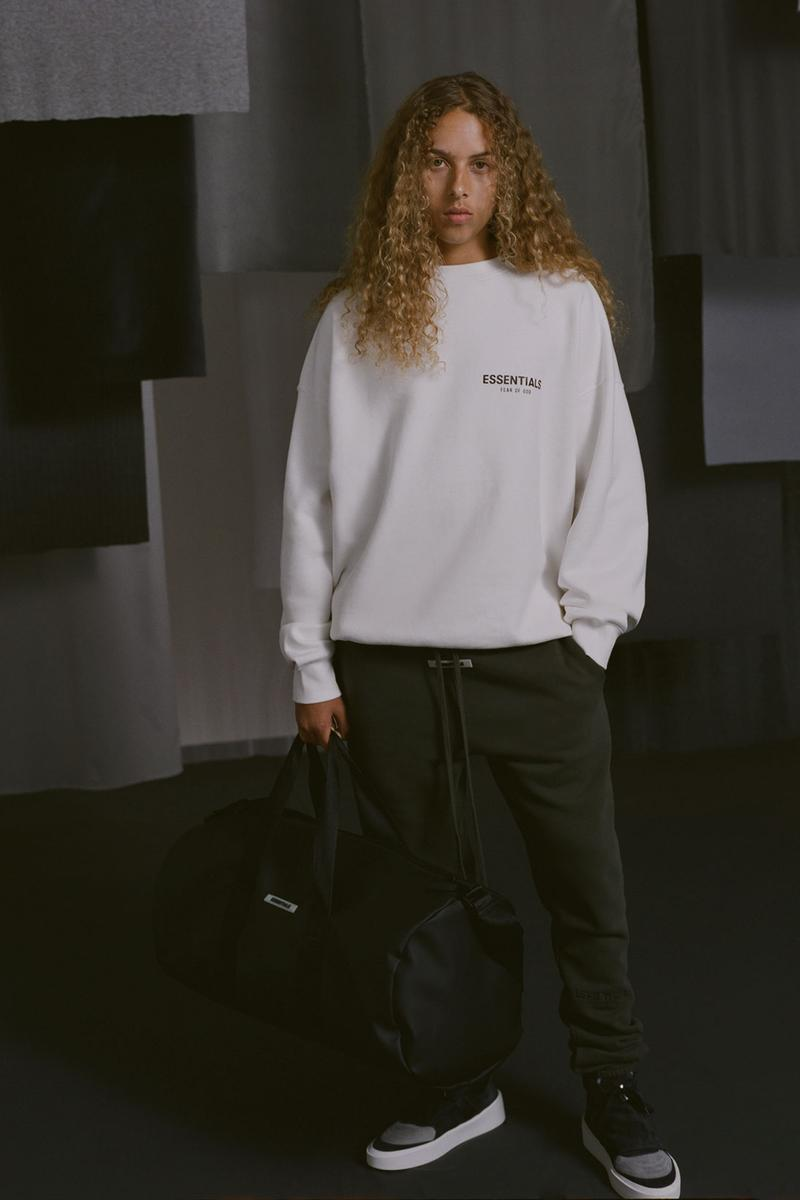 fear of god essentials jerry lorenzo vintage backless runner sneakers sweatshirts sweatpants tees
