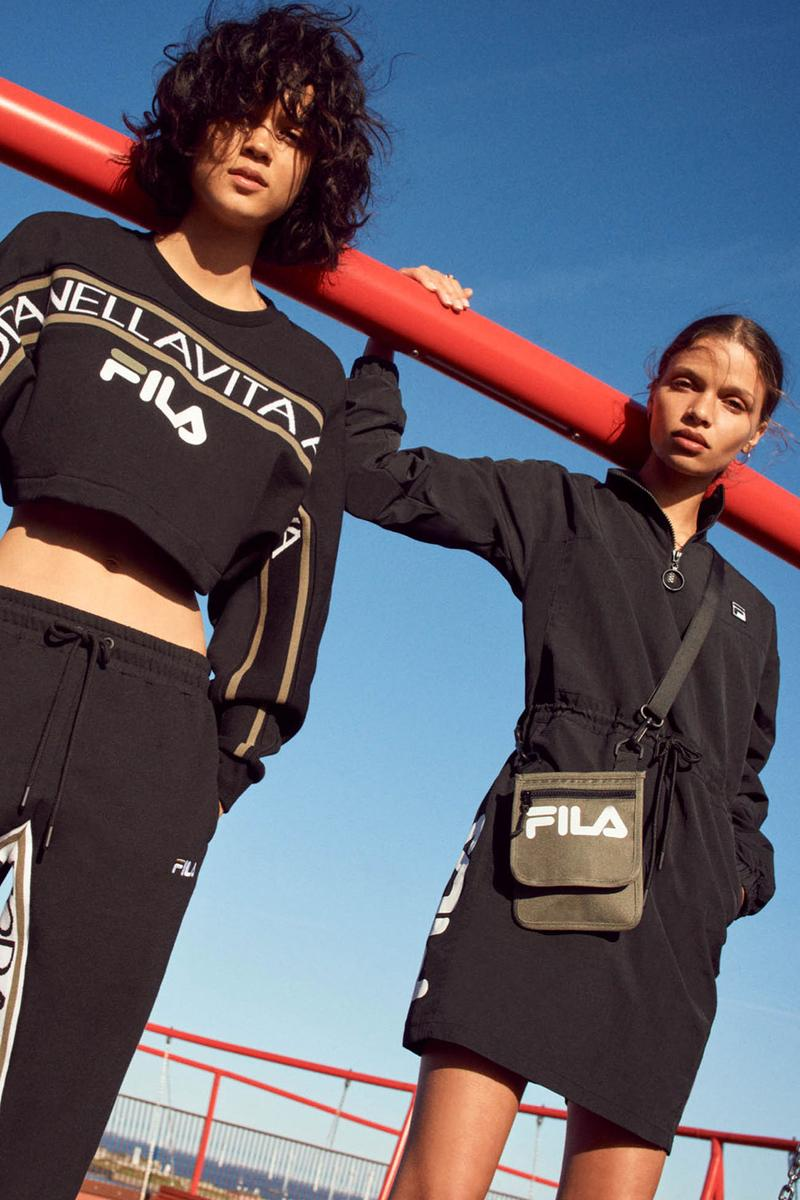 FILA Fall Winter 2019 Heritage Lookbook Collection