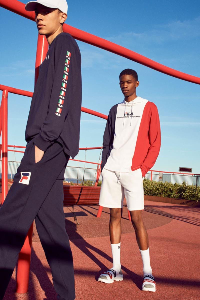 FILA Fall Winter 2019 Heritage Lookbook Hoodie Sneaker