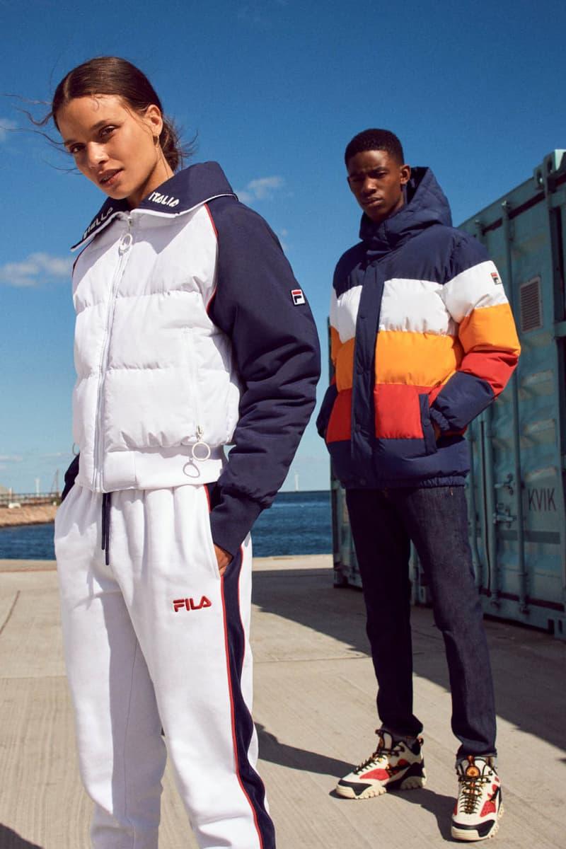 FILA Fall Winter 2019 Heritage Lookbook Jacket Track Pants Sneaker