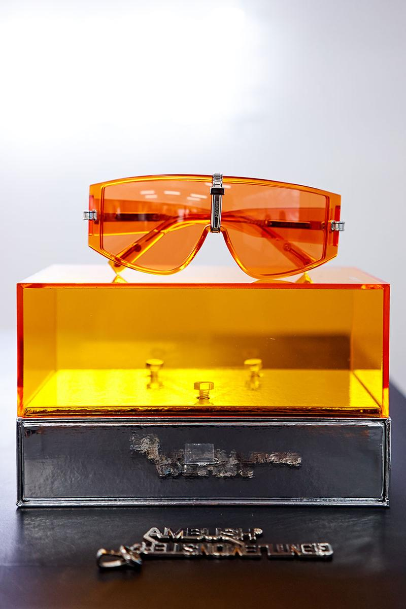 Gentle Monster x AMBUSH Sunglasses Capsule Collection Pop Up Orange