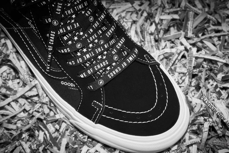 Goodhood x Vans Pack OG Era LX Black White Sneakers