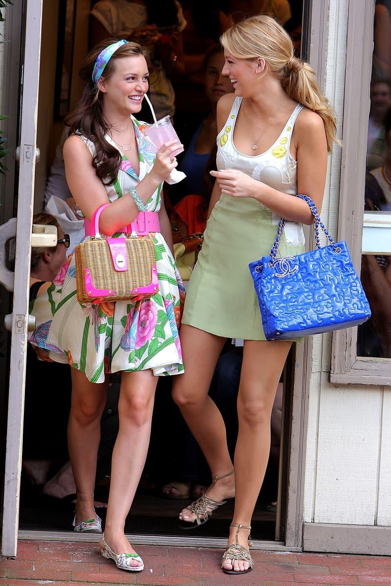 Leighton Meester Blake Lively Gossip Girl Blair Waldorf Headband Summer Dresses Designer Bags Handbags Chanel Serena Van Der Woodsen