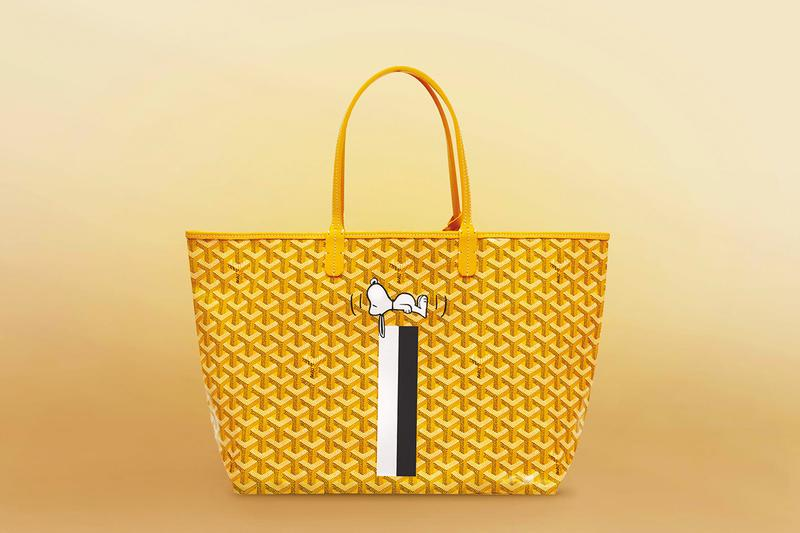 Goyard Snoopy Print Bag Collection Release Exclusive Capsule Osaka Japan Cartoon Character Collectors Item Release Date