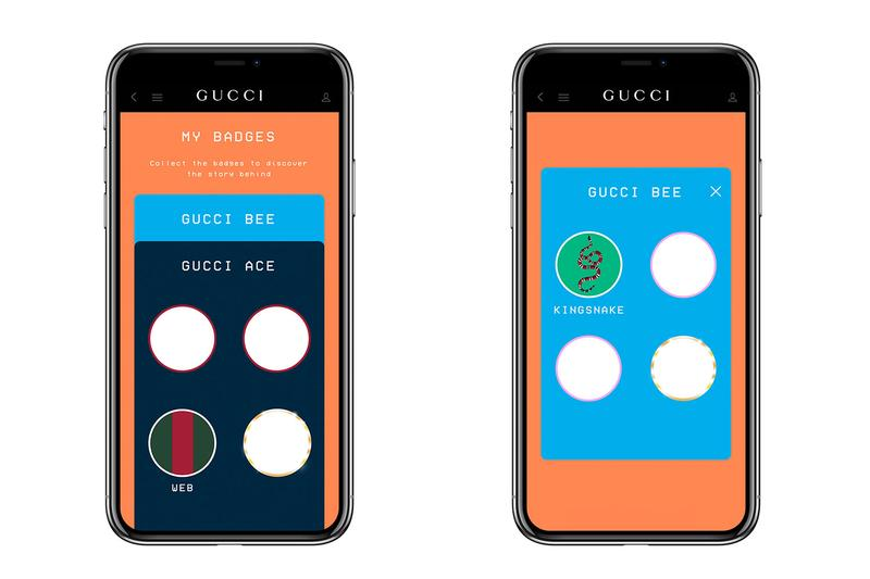 gucci app video game vintage ace sneakers smartphone ios apple android