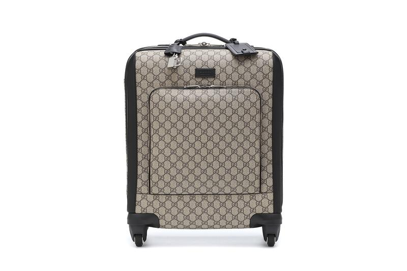 gucci alessandro michele gg monogram carry-on suitcase in-flight travel summer vacation holiday mytheresa