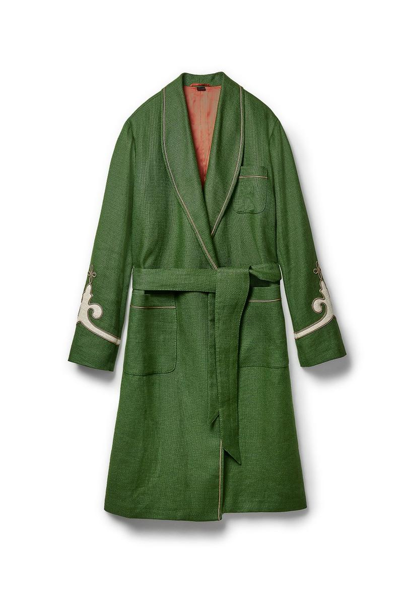 Gucci x Dover Street Market Collection Robe Green