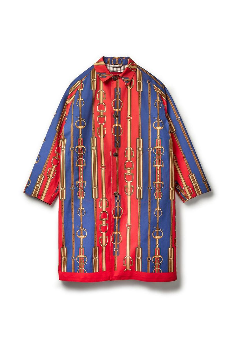 Gucci x Dover Street Market Collection Shirt Blue Red