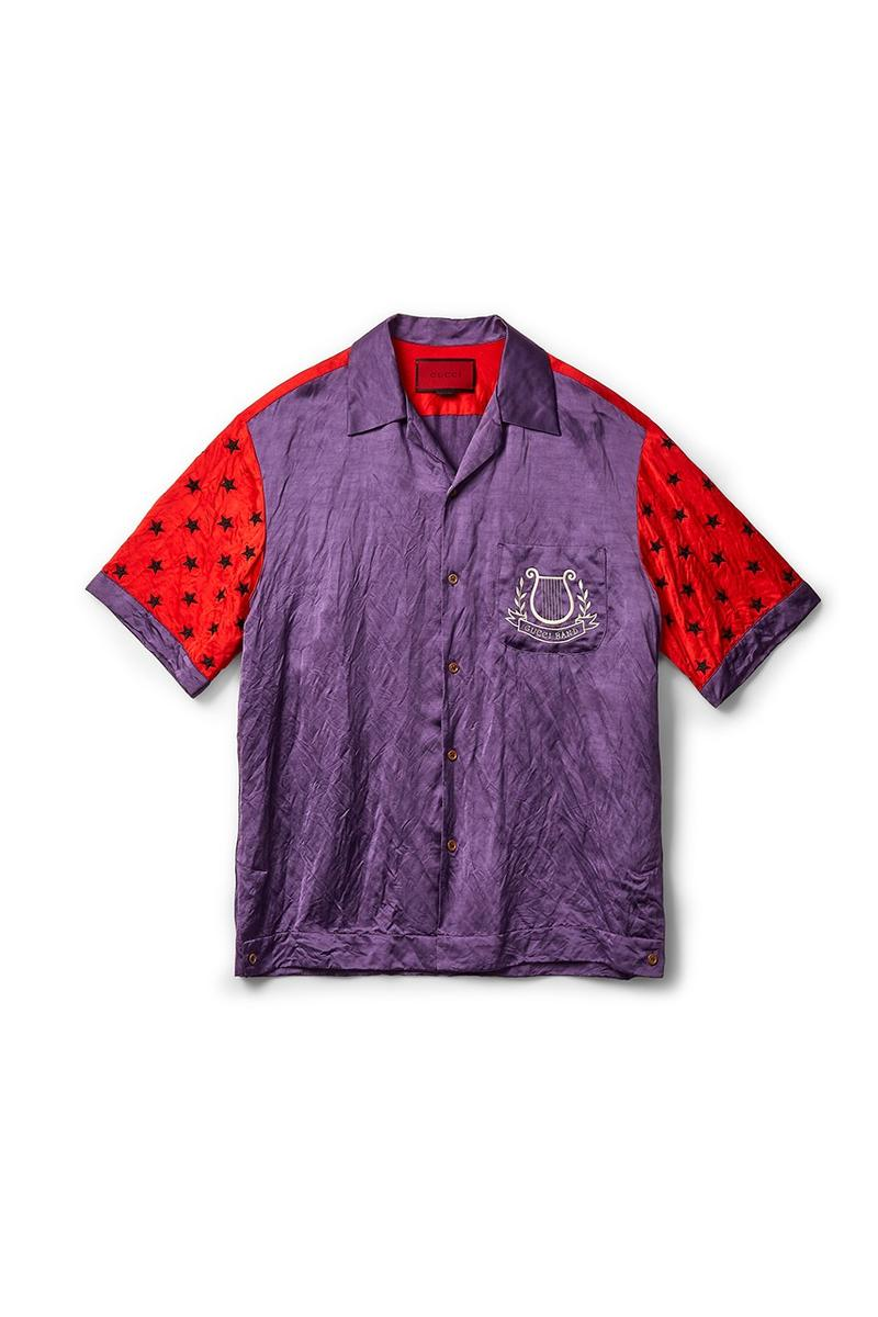 Gucci x Dover Street Market Collection Shirt Purple