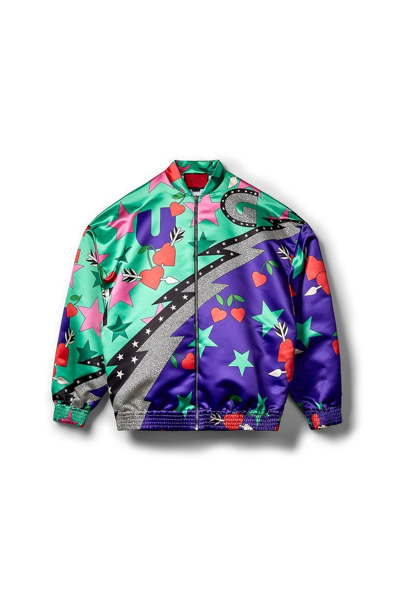 Gucci x Dover Street Market Collection Jacket Blue Green