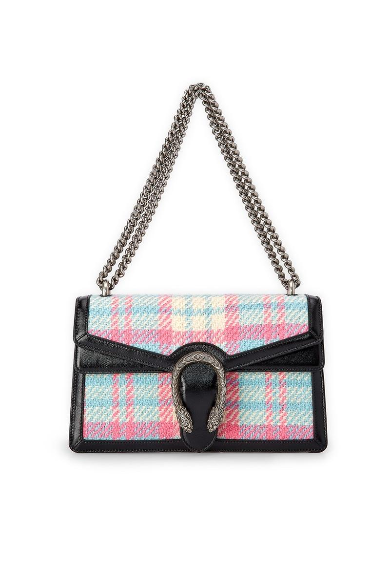 Gucci x Dover Street Market Collection Dionysus Bag Black White Pink